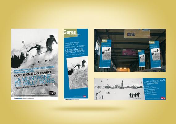 <strong>SNCF &#8211; Paris Gare de Lyon · </strong><span>Kakémono, affiche : création et réalisation graphique / © Client : Edition Terre Bleue</span>